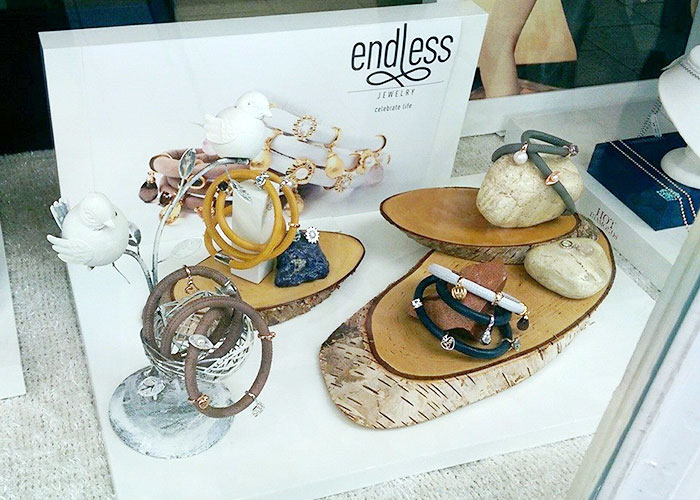 Endless Jewellery display